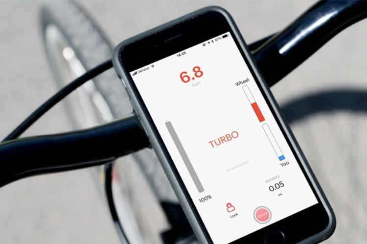 Nur per App steuerbar: Copenhagen Wheel hat verschiedene Modi
