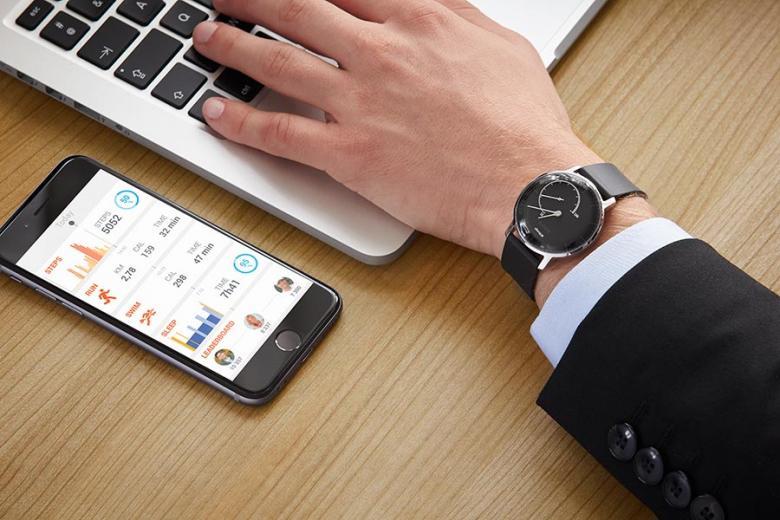Withings Smartphone Health Mate App zeigt Gesundheitsstatus