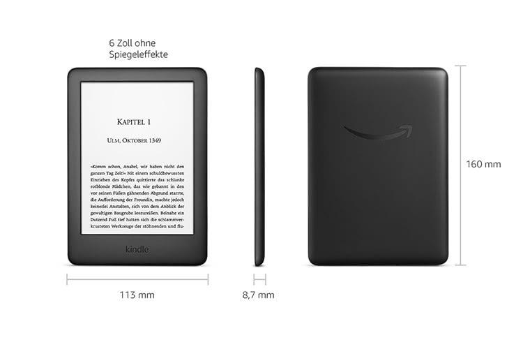 Amazon Kindle ist das Einsteigergerät in die Amazon eBook-Welt