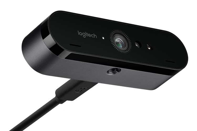 Logitech BRIO ULTRA HD PRO bietet 4K UHD-Auflösung und richtet sich an YouTube- und Streaming-Profis