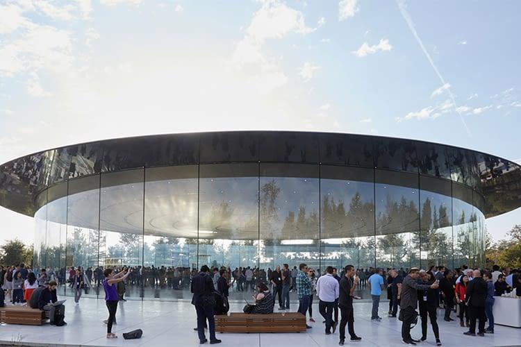 Die Apple Keynote fand zum ersten Mal im Steve Jobs Theater statt