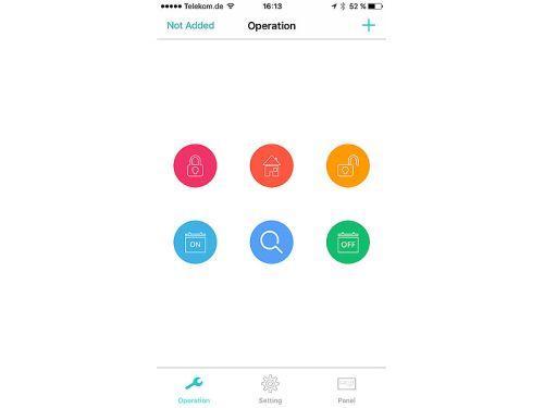 App zur VisorTech Überwachungskamera