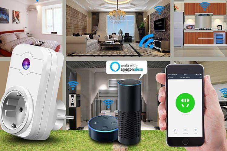 Die WLAN-Steckdose steuert nicht-smarte Geräte im vernetzten Zuhause remote
