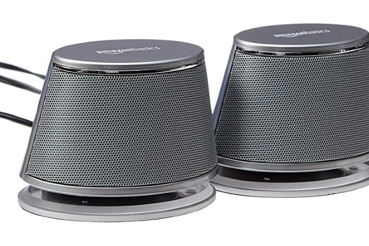 Die Amazon Basics PC-Lautsprecher versprechen viel Sound für wenig Geld