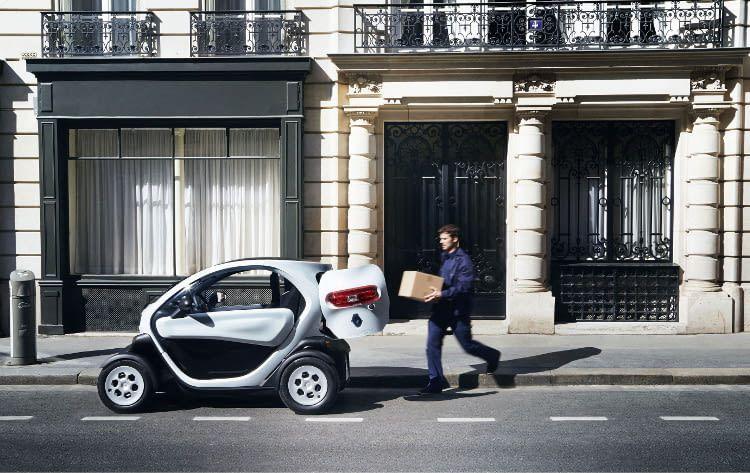Als Stadtauto punktet der Renault Twizy in vielerlei Hinsicht