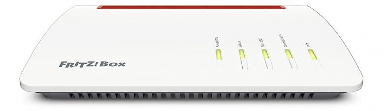 Die neue FRITZ!Box 7590 kommt in ungewohnt modernem und schlanken Gewand