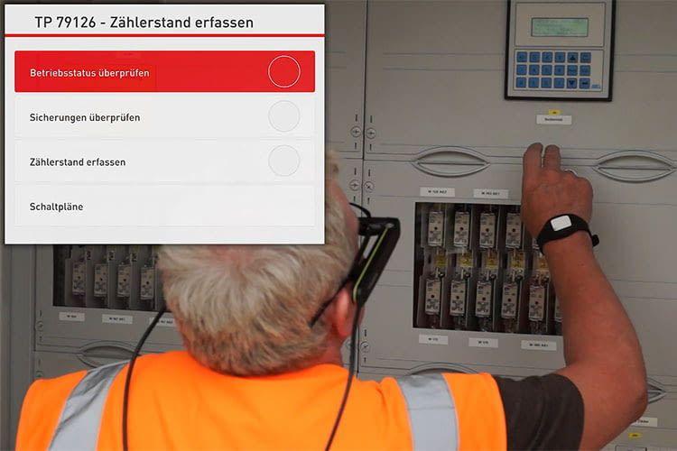 Die Deutsche Bahn setzt die Kinemic-Lösung für Durchführung von Wartungsarbeiten ein