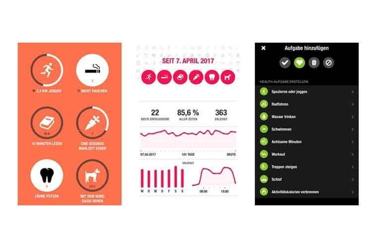 Die eigene Fitness immer unter Kontrolle, mit der Streaks App