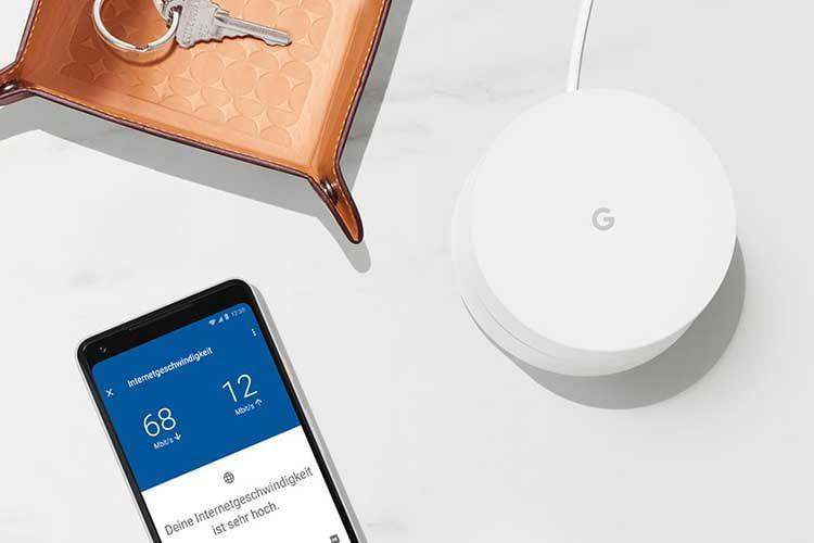 Das Google Wifi Mesh System erfordert einen Google Account - Bedienung und Installation sind spielend einfach