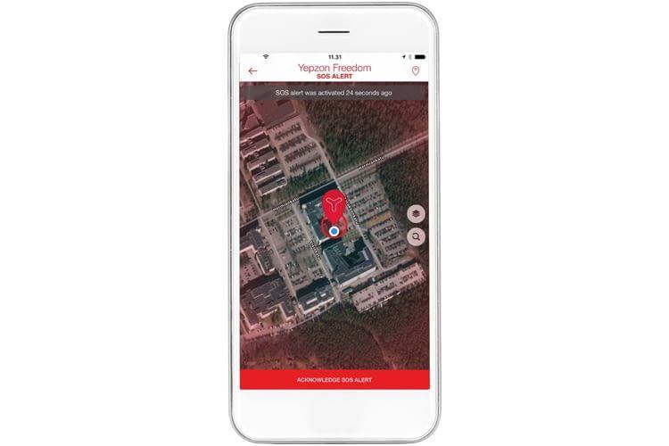 GPS-Tracking per App: Yepzon bietet mehrere Tracker an