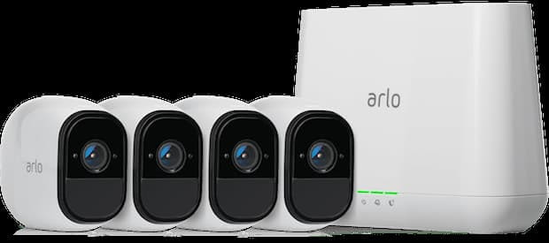 Arlo Pro Smart Security System mit 4 Kameras