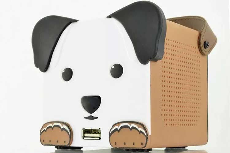 Am DogBox Kinder-Musikplayer lassen sich auch USB-Geräte als Speichermedium für Inhalte nutzen