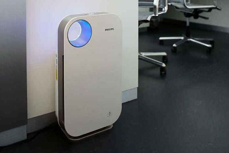Hilft Allergikern im Büro und zuhause, leichter zu atmen: Luftreiniger AC4072/11