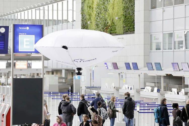 Fraport und Hybrid-Airplane Technologies testen Hybrid-Flugzeug zur Zustandskontrolle im Terminal