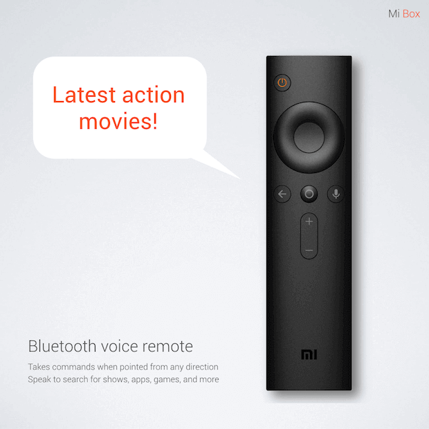 Mi Box Set-Top-Box Remote mit Bluetooth Voice Remote