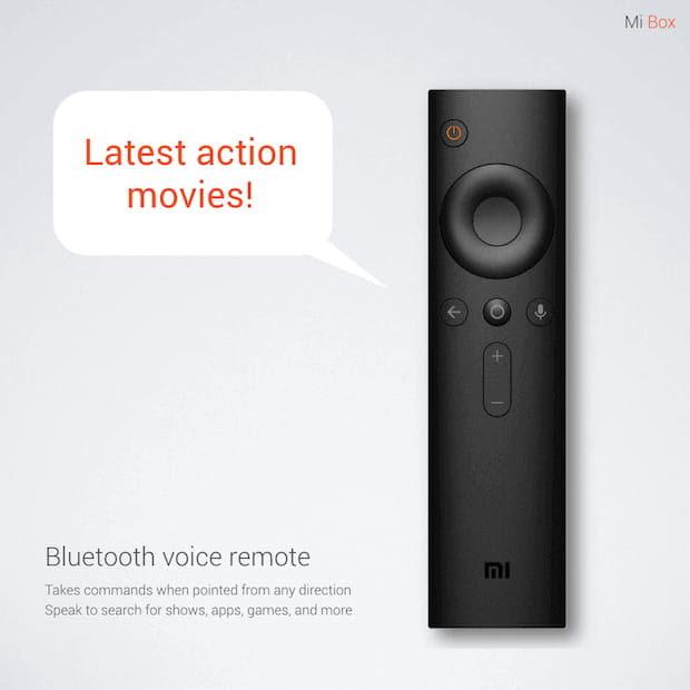 Mi Box Set-Top-Box Remote mit Bluetooth Voice Remote