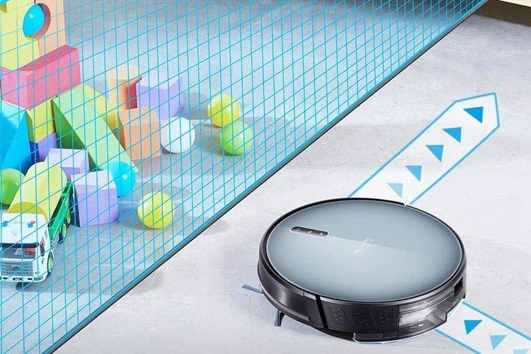 Ein Magnetband zeigt dem Roboter seine Grenzen auf