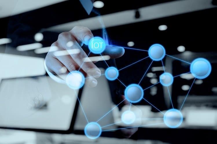 Das Internet der Dinge (IoT) verbindet Mensch und Maschine