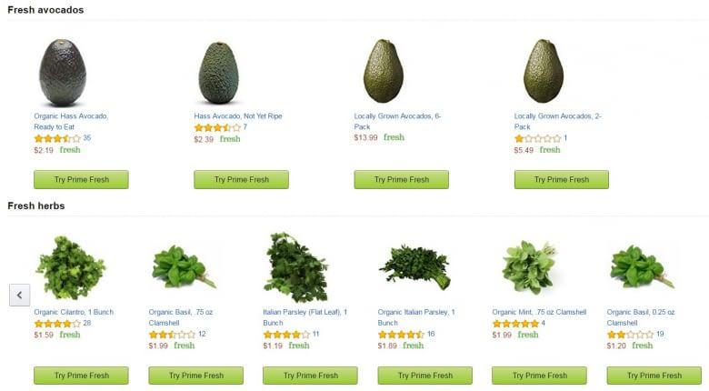 Amazon Fresh: Obst und Gemüse vom DHL-Boten erhalten