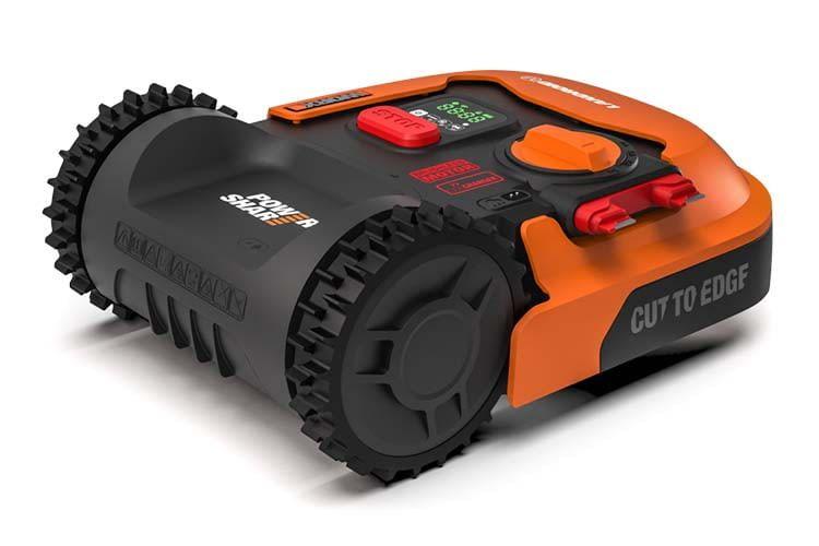 Worx Landroid M 500 (WR141E) bietet Schnittstellen an, über die sich der Rasenroboter nachträglich erweitern lässt
