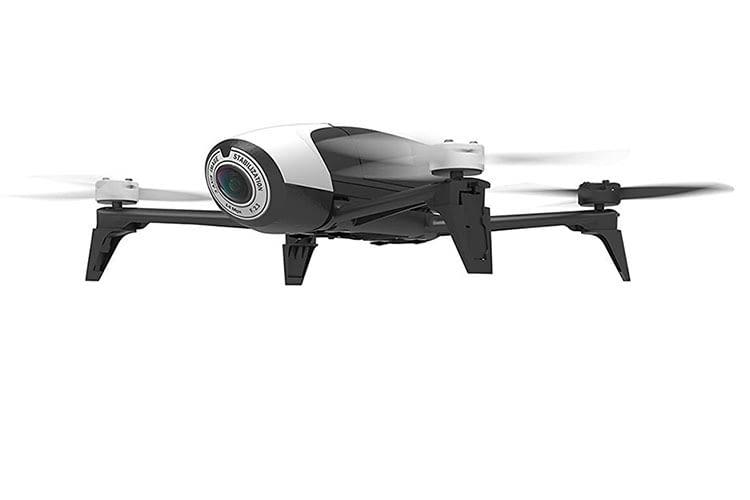 Die Full-HD-Kamera von Parrot Bebop 2 FPV benötigt viel Licht für optimale Ergebnisse