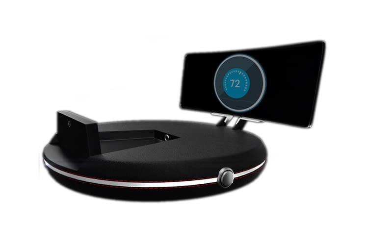 Der Autocockpit-Projektor HeadsUP! steuert besonders viele Funktionen gleichzeitig