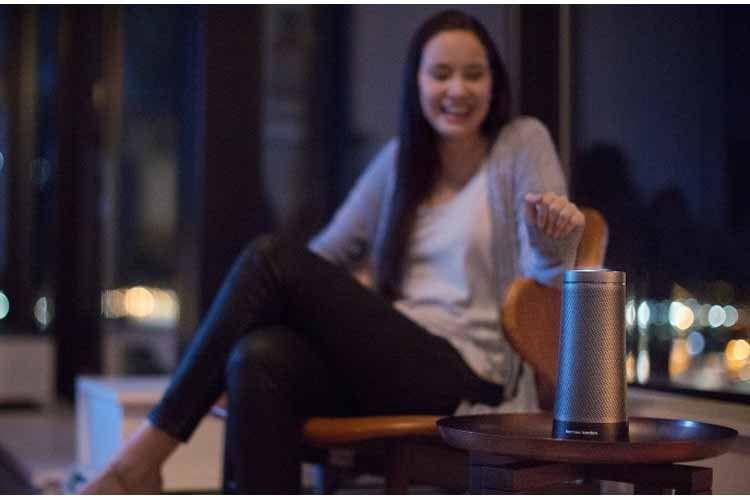 Harman Kardon Invoke Lautsprecher bieten hochwertige Soundqualität und sehen gut aus