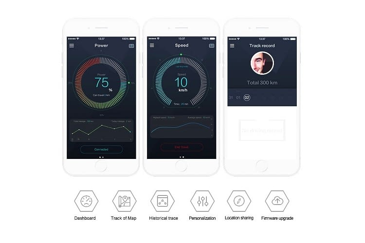 Die ZAR App liefert viele nützliche Informationen zum E-Scooter