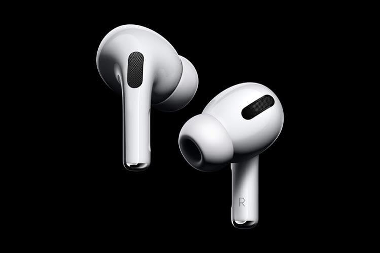 Mit den Apple AirPods Pro erhalten Nutzer In Ear Kopfhörer mit einer starken aktiven Geräuschunterdrückung