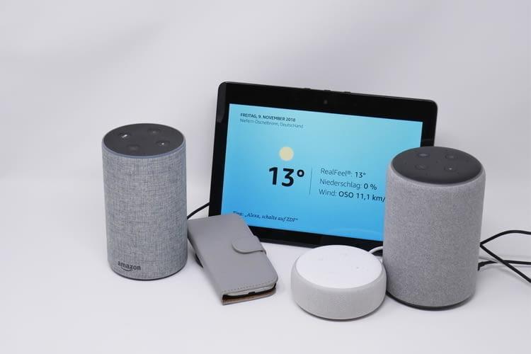 Bisher war die Alexa Sprachsoftware lediglich auf verschiedenen Lautsprechern zuhause