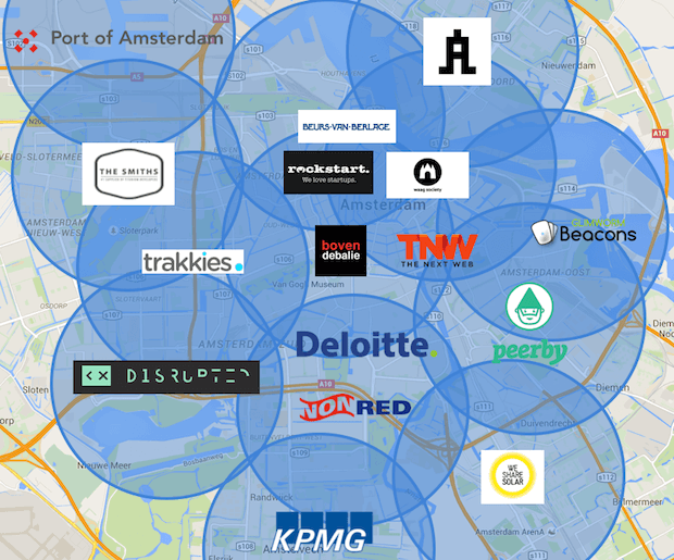 The Things Network - LPWAN Abdeckung Amsterdam