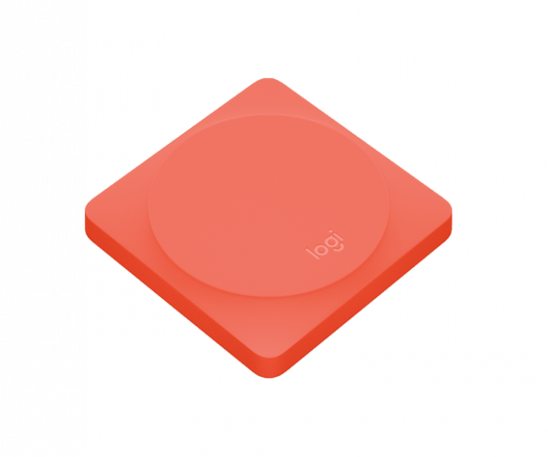 Logitech Pop Home Switch Lichtschalter - rot