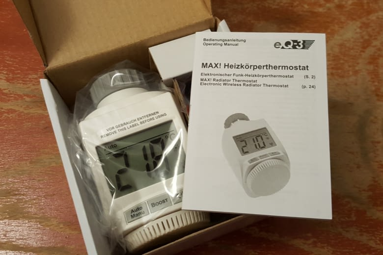 Der eQ-3-Thermostat MAX!