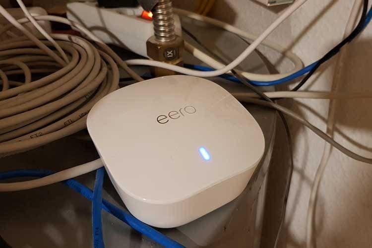 eero: Kleine Mesh-Station für große Mesh WLAN Heimnetzwerke
