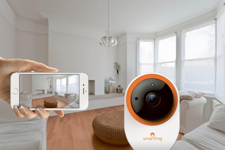Sicherheit im Smart Home - besonders für die eigenen Daten - gewährleistet Smartfrog