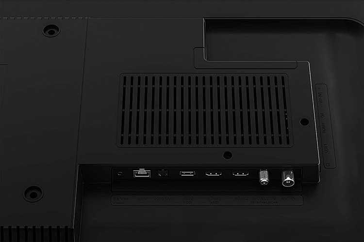 Grundig OLED Fire TV bietet alle gängigen Anschlüsse und unterstützt DVB-T2 HD/C/S2