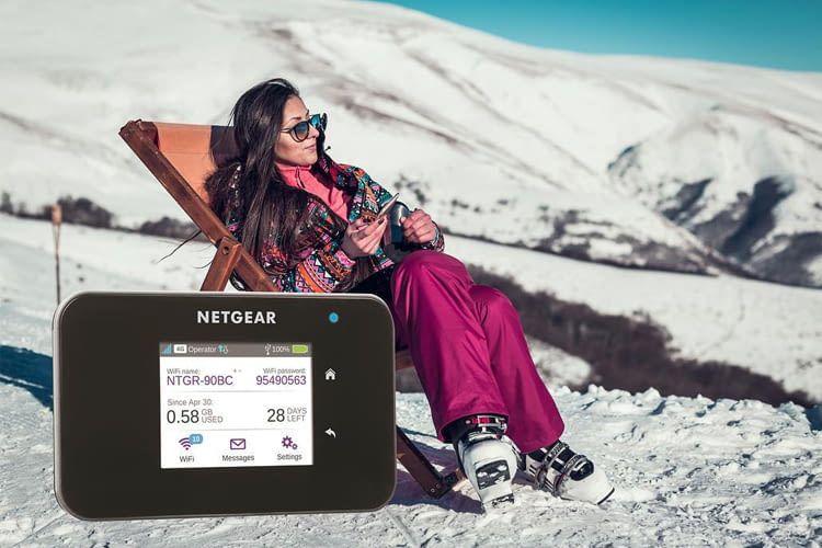 Mit Netgear Aircard 810 ist sicheres WLAN immer dabei