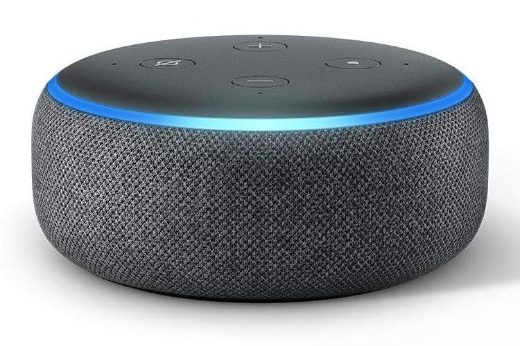 Amazon Echo Dot 3. Generation hat jetzt eine Stoffummantelung