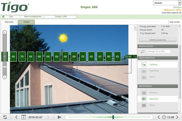 Zur Nutzung des Alexa Skill Tigo ist ein Konto beim Tigo SMART Webportal sowie ein Tigo-optimiertes Solar-Array nötig