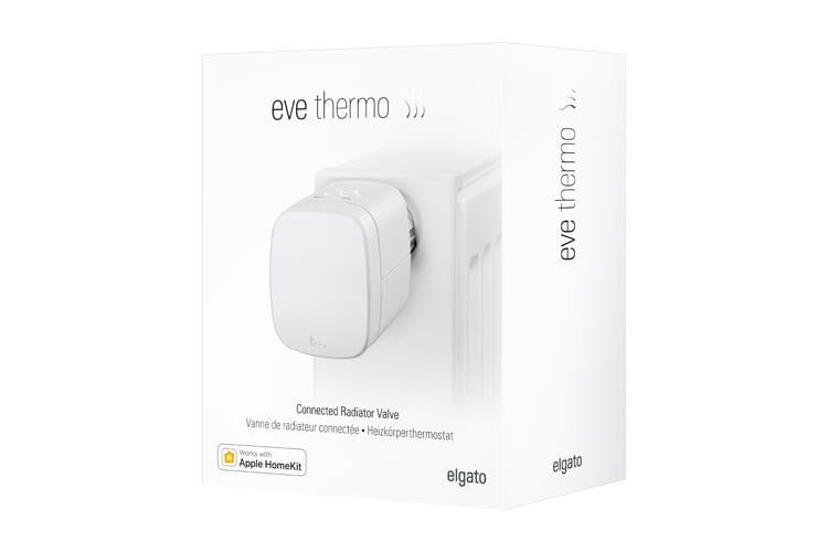 elgato eve thermo bluetooth thermostat im test vergleich. Black Bedroom Furniture Sets. Home Design Ideas