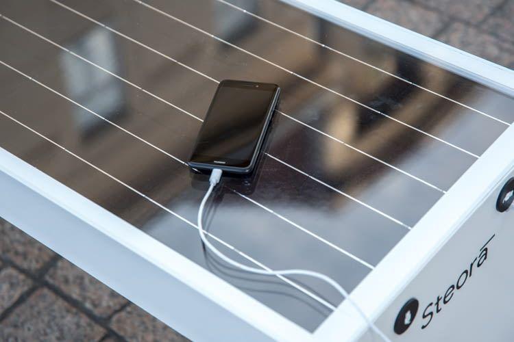 Die Steora Smart Bench verfügt über Wi-Fi Geschwindigkeiten von bis zu 433 Mbits/s