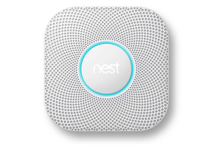 Der Nest Rauchmelder kann auch per Sprachnachricht Alarm schlagen