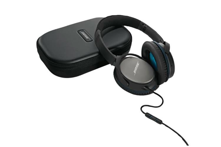 Dieser Kopfhörer hat. u.a. Noise-Cancelling, einen 3.5 mm Klinkenstecker und einen Flugzeugadapter zu bieten