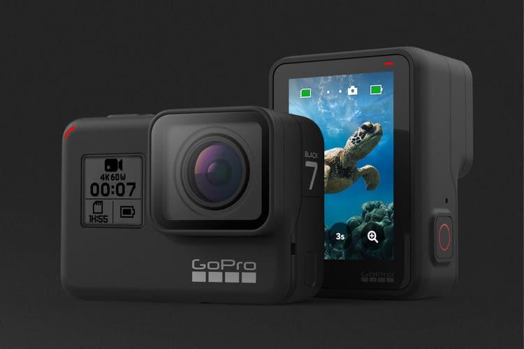 Die HERO7 Black Actioncam ist der aktuelle Marktführer