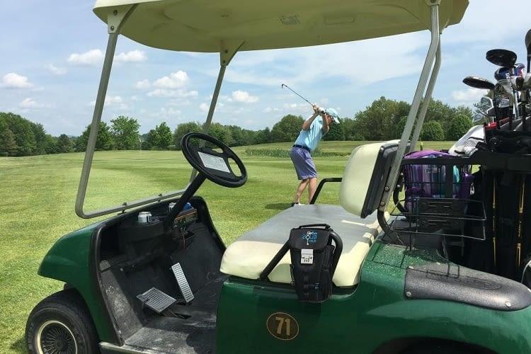 FlexSafe+ bietet auch beim Golfen smarten Diebstahlschutz