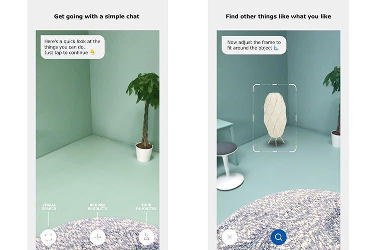 IKEA PLACE App hilft bei der Auswahl neuer IKEA Möbel wie Stehlampen für das IKEA TRÅDFRI Lichtsystem