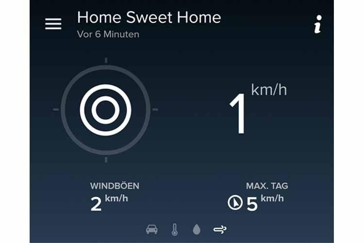 Windmesser getestet: 5 km/h gepustet