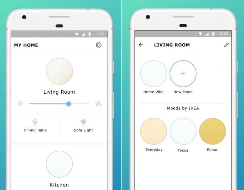 Einfache App-Gestaltung - Das hat man von IKEAs TRÅDFRI nicht anders erwartet