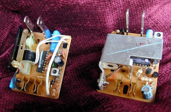 Die Elektronik von X10 Modulten