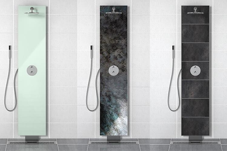 Die Flow Loop Duschen sehen gut aus und reduzieren den Wasser- und Energieverbrauch im Haushalt